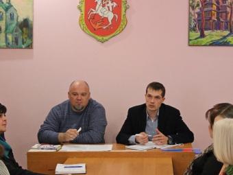 Відбулась робоча нарада з працівниками бібліотек Володимир-Волинської громади