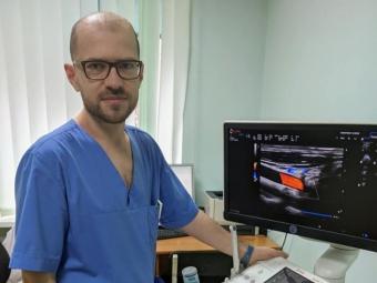 В лікарні Володимира запрацював сучасний апарат для ультразвукової діагностики