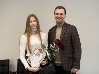 Міський голова привітав володимирчанку з перемогою на Чемпіонаті України