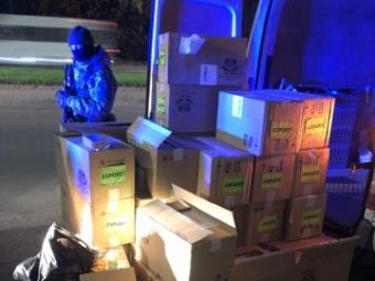 Прикордонники ліквідували канал незаконної реалізації контрафактних сигарет
