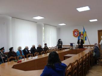 У Володимирі відбулось урочисте засідання з нагоди Дня пам'яті і примирення і до Дня перемоги над нацизмом у Другій світовій війні