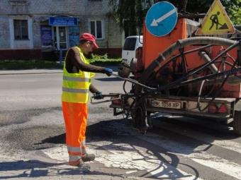 У Нововолинську капітально відремонтують чотири вулиці, на інших – залатають ямки