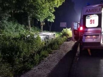На Рівненщині перекинувся автобус Київ – Вроцлав: багато постраждалих