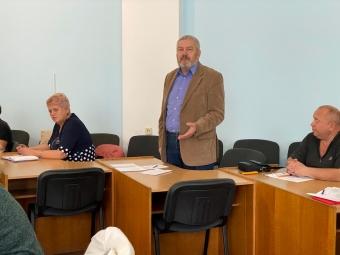 У Володимирі відбулось засідання громадської ради при виконавчому комітеті міської ради