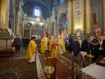 Розклад святкових богослужінь