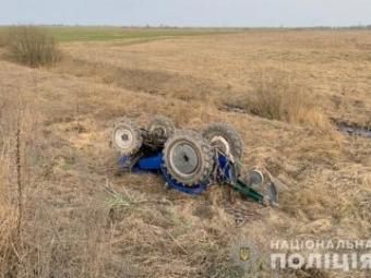 У Турійському районі трактор на смерть придушив чоловіка