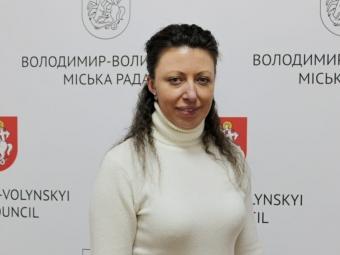 У Володимирі новим начальником відділу капітального будівництва управління інфраструктури стала Ганна Рубанова