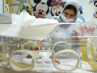 Мешканка Малі народила відразу дев'ятьох дітей