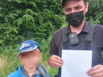 На Волині розшукали 9-річного хлопчика, який загубився в лісі