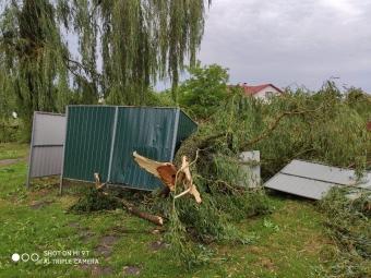 У Володимирі відбулась екстрена нарада керівників комунальних служб по питанню ліквідації наслідків буревію