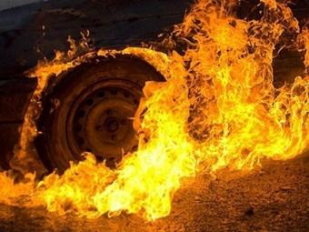 На Горохівщині згорів трактор