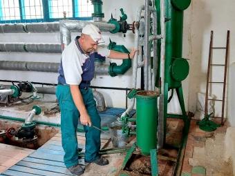 Теплоенерго у Володимирі перевіряє справність обладнання хімводоочищення