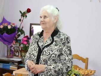 У Володимирі очільниця організації осіб з інвалідністю відсвяткувала 80-річний ювілей