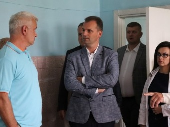 У Володимирі обговорили можливість перенесення відділення невідкладної допомоги у приміщення відділення трансфузійної допомоги