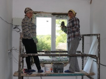 У Володимирі проводять ремонтні роботи у багатоквартирних будинках
