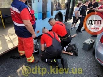 У Києві водій тролейбуса помер за кермом