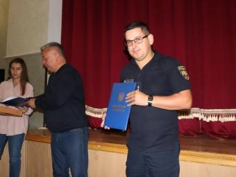 У Володимирі з Днем рятівника привітали працівників ДСНС