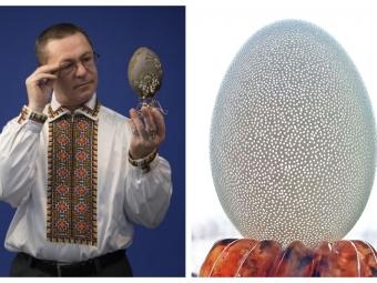 Анатолій Бойко з Володимира встановив новий особистий рекорд, зробивши 11 260 отворів на гусячому яйці
