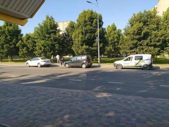 У Володимирі на вулиці Луцькій трапилась ДТП