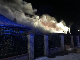 """Назвали ймовірну причину пожежі в ТКЦ """"Княгині Ольги"""""""