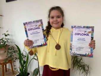 Учениці художньої школи у Володимирі здобули перемогу на міжнародному фестивалі