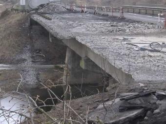 Четверо робітників, травмованих під час обвалу мосту між Володимиром і Устилугом, отримають компенсацію