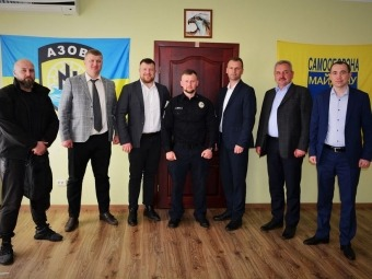 Влада Нововолинська та Володимира зустрілася з начальником управління патрульної поліції в Рівненській області