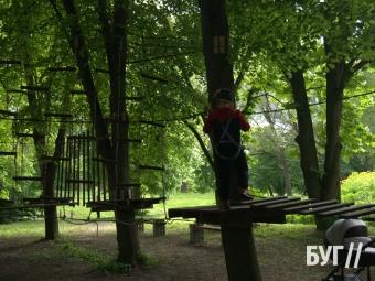 У Володимирі відкрили мотузковий парк
