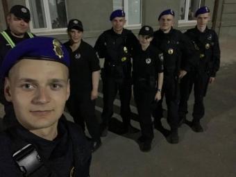У Володимирі поліція, військові та Нацгвардія провели спільне патрулювання