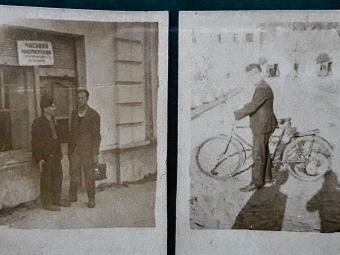 Показали ретро фото годинникаря та його майстерні у Володимирі