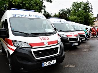 Медики Володимирщини отримали новий транспорт