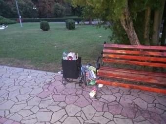 У Володимирі після святкування Дня міста комунальники вивезли 20 кубів сміття