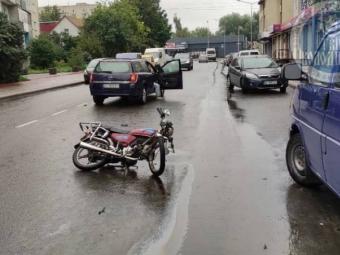 У Володимирі трапилася ДТП за участю мотоцикліста