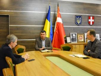 На робочій зустрічі з головою облради обговорили проблеми Володимир-Волинської та Ковельської громад