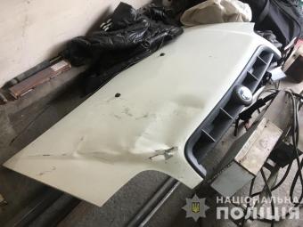 Поліція затримала водія, який збив велосипедиста