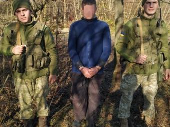 У Володимир-Волинському районі прикордонники пострілами зупиняли контрабандистів