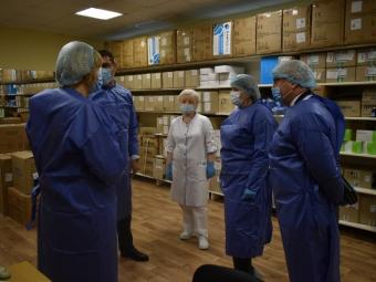 Лікарню Володимира відвідала перша заступниця міністра охорони здоров'я