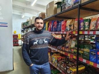Олександр Іванюк пропонує покупцям широкий  асортимент якісних товарів за низькими цінами.