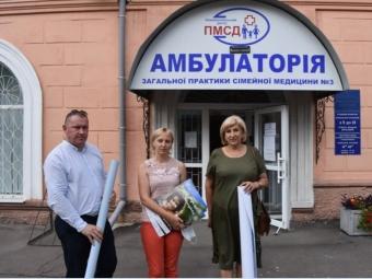 Голова Волинської ОДА інспектував Центри вакцинації у Володимирі-Волинському і Нововолинську