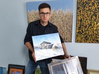 «Картини пишу зі свідомості, із пам'яті, зі свого життя»