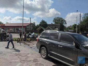На водія LEXUS, який скоїв ДТП біля танка у Володимирі, відкрили кримінал