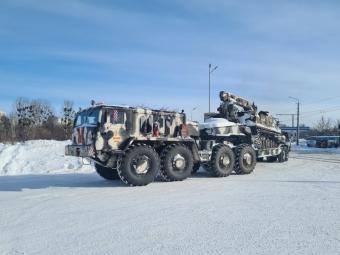 На Горохівщині розчищають дороги за допомогою військової техніки