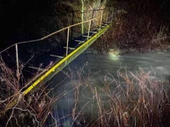 На Закарпатті в новорічну ніч потонув юнак