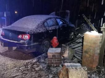 У Польщі п'яний українець за кермом авто в'їхав у магазин