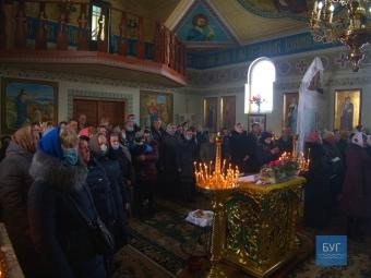 У храмі в Галинівці провели першу літургію після переходу до ПЦУ