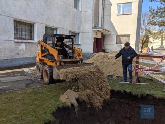 Знайдене підземелля у Володимирі засипали піском тимчасово, щоб воно не провалювалося