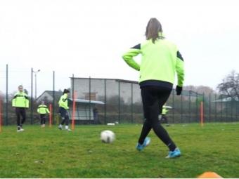 Розповіли про єдину жіночу футбольну команду Волині, яка знаходиться у Володимирі