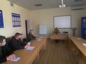 У Володимирі відбулося чергове засідання «Клубу учасників АТО»