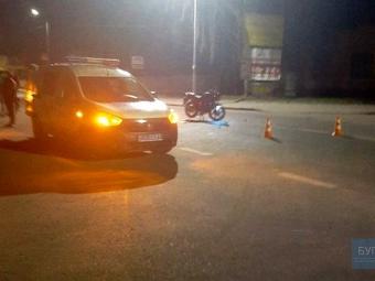 У Володимирі сталася ДТП за участю мотоцикла