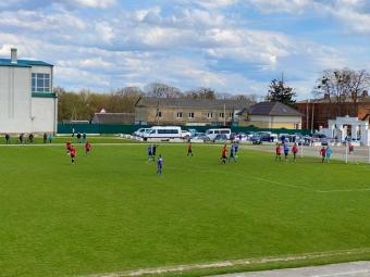 Володимирські футболісти здобули перемогу в першій грі Чемпіонату Волині